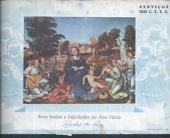 Raro Telegrama Stationery Natal Circulado Em Timor De Aileu/Ermera 1968,stamp Assistência Sobrecarga DL776,$30.Music.3sc - Timor