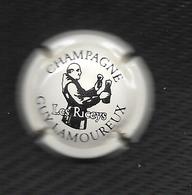 CAPSULE De CHAMPAGNE GUY LAMOUREUX Marron Sur Fond Crème -  10 -  LES RICEYS - Unclassified