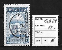1924  50 JAHRE WELTPOSTVEREIN → SBK-168 BI   ►Stempel Cully◄ - Gebraucht