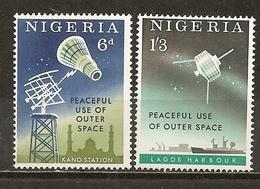 Nigeria 1963 Satellite Set Complete MNH ** - Nigeria (1961-...)