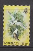 "1985 Kiribati 55c Fairy Tern Birds Oiseaux  ""DIFFICULT"" Rate Change  Late Issue  Complete Set Of 1 MNH - Kiribati (1979-...)"