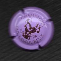 CAPSULE De CHAMPAGNE GUY LAMOUREUX Marron Sur Fond Violet   - 10 -  LES RICEYS - Unclassified