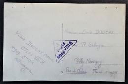 CP Photo Château Prisonnier De Guerre OFLAG VIII H Horní Dlouhá Louka Rèp. Tchèque Vers Billy-Montigny Pas De Calais - Marcophilie (Lettres)