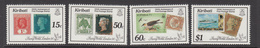 1990 Kiribati London 90 Philately Stamps On Stamps Complete Set Of 4 MNH - Kiribati (1979-...)
