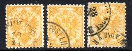 R541 - BOSNIA ERZEGOVINA ,tre Valori Usati Del 2 K. Tipografia - Bosnia Erzegovina