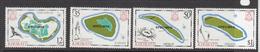 "1985 Kiribati Maps Birds Crabs Trees ""SPECIMEN""  Complete Set Of 4 MNH - Kiribati (1979-...)"