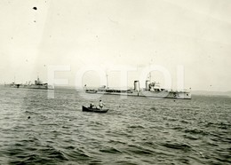 30s ORIGINAL PHOTO FOTO Cacciatorpediniere Regia Marina Torpedo Boat Ship ITALIA - Bateaux