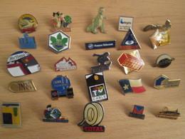A Prix Cassé !!! LOT18-233 De 25 Pin's En Très Bon état , Tous Différents , Avec Leurs Attaches - Badges