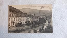 Cachet Officiers Prisonniers De Guerre Sur Carte De BARCELONNETTE ….................…1B-587 - Guerre De 1914-18