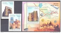 2009.  Uzbekistan, Silk Road, 2v + S/s,   Mint/** - Uzbekistan