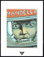 """Visage Extrait De """"LA GUERRE ETERNELLE"""" De MARVANO Et HALDEMA, Issu Du Porte-folio Collection """"Aire Libre"""" 1993 (scan 2) - Affiches & Offsets"""