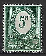 HAUTE SILESIE   -   1920  .  Y&T N° 21 (*) - Slesia
