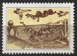 Icarus / Greek Mythology - 1991 Yugoslavia Slovenia Label Cinderella Vignette MNH - Mythologie