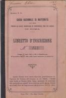 12202-MARCHE DA BOLLO-CASSA NAZIONALE DI MATERNITA' SU LIBRETTO - Fiscali