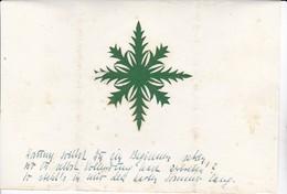 Scherenschnitt  -  Florales Muster - Blattgröße 20*14cm - 1948 (37575) - Chinese Paper Cut