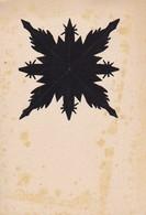 Scherenschnitt  -  Blattgröße 15*10cm - 1949 (37576) - Scherenschnitte