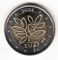FINLANDIA 2004    2 EUROS. AMPLIACION DE LA UNION EUROPEA   NUEVA SIN CIRCULAR. RARA   CN 4374 - Finlande