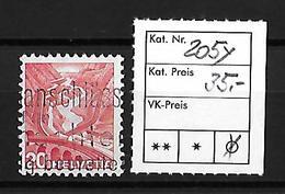 1936-1938 NEUE LANDSCHAFTSBILDER → Glattes Papier   ►SBK-205y◄ - Gebraucht