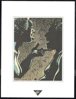 "Visage Extrait De ""MISSIE VANDISANDI"" De HERMANN, Issu Du Porte-folio Collection ""Aire Libre"" 1993 (scan 2)s - Affiches & Offsets"