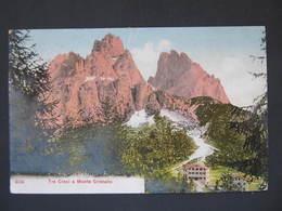 AK TRE CROCI Dolomiten Ca.1910 //  D*34873 - Italien
