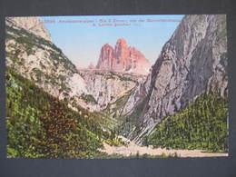 AK DREI ZINNEN  Dolomiten Ca.1910 //  D*34876 - Italien
