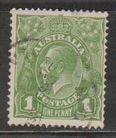 AUSTRALIA Scott # 67 Used - KGV Head - 1913-36 George V : Têtes