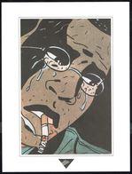 """Visage Extrait De """"SUR LA ROUTE DE SELMA"""" De BERTHET, Issu Du Porte-folio Collection """"Aire Libre"""" 1993 (scan 2) - Affiches & Offsets"""