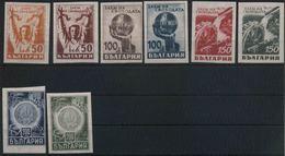1945 Bulgaria, Liberazione, Serie Completa Nuova (*) Non Dentellata - 1945-59 People's Republic