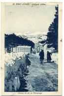 66 - Font  Romeu -  Champ De Ski De L' Ermitage  N° 12 +  Cachet  Daguin  Font  Romeu - Autres Communes