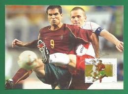 Portugal  2002   Mi.Nr. 2609 , Sport - Desporto / Futebol  - Maximum Card - CTT Lisboa 2002.08.02 - Maximum Cards & Covers