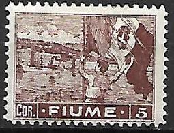 FIUME    -   1919 .   Y&T N° 47 * - 8. WW I Occupation