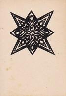 Scherenschnitt  -  Blattgröße 15*10cm - 1949 (37577) - Papier Chinois