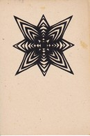 Scherenschnitt  -  Blattgröße 15*10cm - 1949 (37578) - Papier Chinois