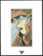 """Visage Extrait De """"L'OISEAU NOIR"""" De DETHOREY Et LE TENDRE, Issu Du Porte-folio Collection """"Aire Libre"""" 1993 (scan 2) - Affiches & Offsets"""