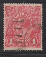 AUSTRALIA Scott # 21 Used - KGV Head - 1913-36 George V : Hoofden