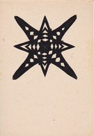 Scherenschnitt  -  Blattgröße 15*10cm - 1949 (37580) - Papier Chinois