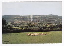 63 Saint St Eloy Les Mines Très Belle Vue Générale Avec Fumée Et Troupeau De Moutons - Saint Eloy Les Mines