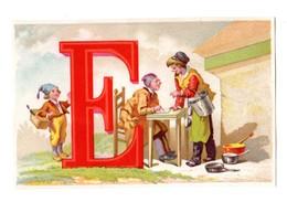 Chromo BOGNARD, Sorisi 3-28, Alphabet, Lettre E, école - Chromos