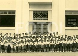 1940 REAL FOTO PHOTO POSTCARD ALUNOS ALUNAS COLEGIO SAO JOSE LUANDA  ANGOLA AFRICA AFRIQUE CARTE POSTAL - Angola