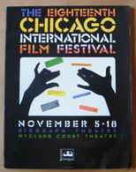 The Eighteenth Chicago International Film Festival - 1982 - 76 Pages 28 X 21,5 Cm - Art
