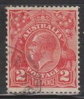 AUSTRALIA Scott # 116 Used - KGV Head - 1913-36 George V : Têtes