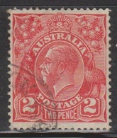 AUSTRALIA Scott # 116 Used - KGV Head - 1913-36 George V: Heads