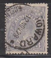 AUSTRALIA Scott # 72 Used - KGV Head - 1913-36 George V : Têtes