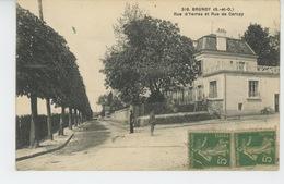 BRUNOY - Rue D'Yerres Et Rue De Cercay - Brunoy