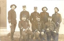 CARTE-PHOTO -soldats Et Officiers Du 11 è Chasseurs Alpins à Annecy  - - Annecy