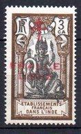 Col10    Inde  N° 178  Neuf X MH Cote : 2,10 Euro Cote 2015 - India (1892-1954)