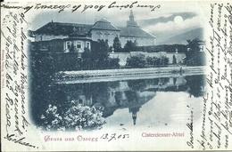 102711 GERMANY GRUSS AUS OSSEGG CISTERCIENSER ABBEY POSTAL POSTCARD - Deutschland
