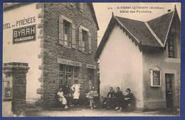 CPA MORBIHAN (56) - SAINT-PIERRE-QUIBERON - HOTEL DES PYRENEES - Autres Communes