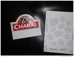 Magnet VIANDE CHARAL  Avec Carnet Pense-bete De 25 Feuilles - Magnets