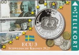 Denmark, P 040, Ecu - Sweden, Mint Only 700 Issued, 2 Scans. - Denmark